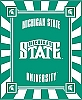 Michigan State University® Spartans® College Fleece Fabric Panel